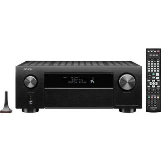 Denon AVC-X4700H 9.2 AV-Receiver 9x200 W Schwarz 4K UltraHD, AirPlay, Bluetooth®, Internetradio, WLAN, Dolby Atmos®