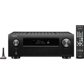 Denon AVC-X4700H 9.2 AV-Receiver 9x200 W Schwarz 4K UltraHD, AirPlay, Bluetooth®, Internetradio, WLAN, Dolby Atmos®
