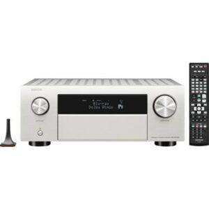Denon AVC-X4700H 9.2 AV-Receiver 9x200 W Silber 4K UltraHD, AirPlay, Bluetooth®, Internetradio, WLAN, Dolby Atmos®