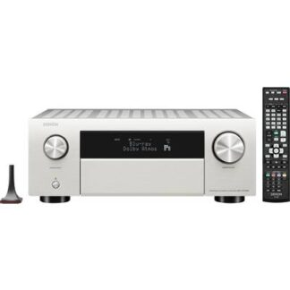 Denon AVC-X4700H 9.2 AV-Receiver 9x200 W Silber 4K UltraHD, AirPlay, Bluetooth®, Internetradio, WLAN, Dolby Atmos®