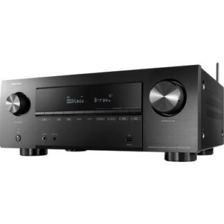 Denon AVR-X2700H 7.2 AV-Receiver 7x150 W Schwarz 4K UltraHD, AirPlay, Bluetooth®, Dolby Atmos®, Internetradio, USB,