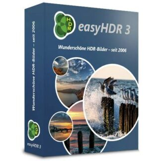 EasyHDR 3 Vollversion, 1 Lizenz Windows Bildbearbeitung