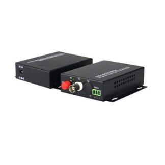 HD 1080P CVI AHD TVI 1 Channel Video Fiber Optical Media Converter for CCTV
