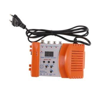 M69 Professional Digital VHF UHF RF Modulator AV to RF AVto TV Converter Adapter(Orange EU Plug)