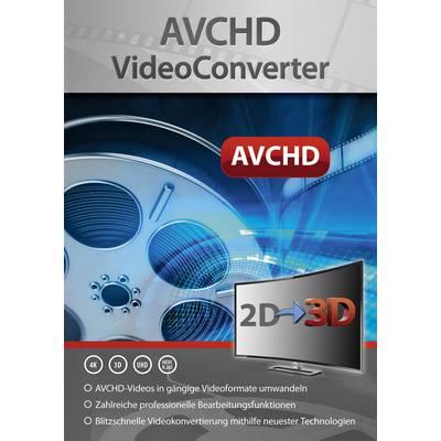 Markt & Technik AVCHD VideoConverter Vollversion, 1 Lizenz Windows Videobearbeitung