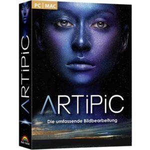 Markt & Technik Artipic - Fotobearbeitung Vollversion, 1 Lizenz Windows, Mac Bildbearbeitung