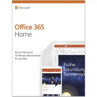 Microsoft Office 365 Home Vollversion, 6 Lizenzen Windows, Mac, Android, iOS Office-Paket