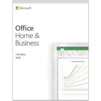 Microsoft Office Home & Business 2019 Vollversion, 1 Lizenz Windows, Mac Office-Paket