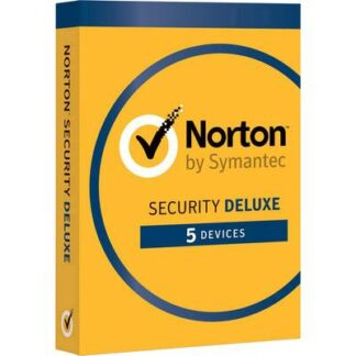Norton Symantec Security Deluxe 3.0 Vollversion, 5 Lizenzen Windows, Mac, iOS, Android Sicherheits-Software
