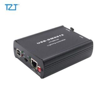 TZT Multi-function USB-DMX512 Lighting Controller ArtNet DMX512 Network Control WYS Converter