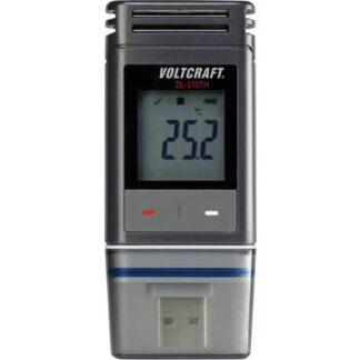 VOLTCRAFT DL-210TH Temperatur-Datenlogger, Luftfeuchte-Datenlogger Messgröße Temperatur, Luftfeuchtigkeit -30 bis +60 °C
