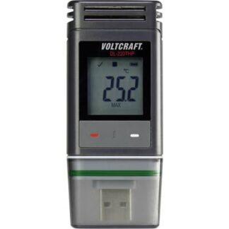 VOLTCRAFT DL-220THP Temperatur-Datenlogger, Luftfeuchte-Datenlogger, Luftdruck-Datenlogger Messgröße Temperatur,