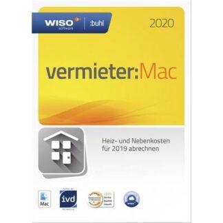 WISO Vermieter:Mac 2020 (5 WE - Klappbox) Vollversion, 1 Lizenz Mac Finanz-Software