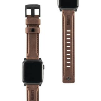 uag Leather Armband 42 mm, 44 mm Braun
