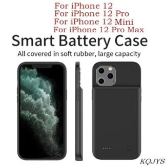 6800mAh Power Bank Phone Battery Charger Cases For iPhone 12 Pro Max 12 Pro Battery Case UltraThin Power Case For iPhone 12 Mini
