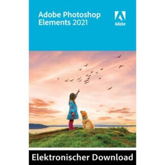 Adobe Photoshop Elements 2021 Jahreslizenz, 1 Lizenz Windows, Mac Bildbearbeitung