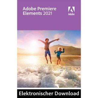 Adobe Premiere Elements 2021 Upgrade, 1 Lizenz Windows, Mac Bildbearbeitung
