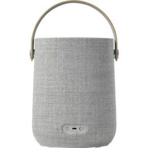 Harman Kardon Citation 200 Multiroom Lautsprecher Bluetooth®, Air-Play, WLAN AirPlay, spritzwassergeschützt Grau