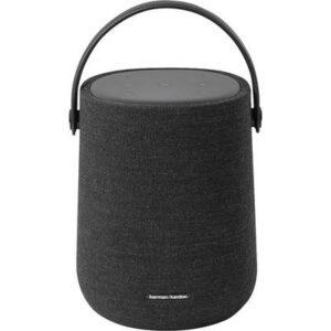 Harman Kardon Citation 200 Multiroom Lautsprecher Bluetooth®, Air-Play, WLAN AirPlay, spritzwassergeschützt Schwarz