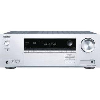 Onkyo TX-SR494 7.2 AV-Receiver 7x160 W Silber 4K UltraHD, Bluetooth®, Dolby Atmos®