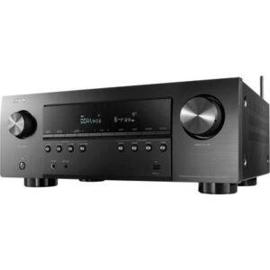 Denon AVR-S960H 7.2 AV-Receiver 7x145 W Schwarz 4K UltraHD, AirPlay, Bluetooth®, Dolby Atmos®, WLAN, USB, Internetradio,