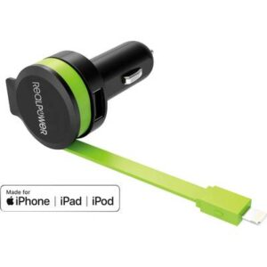 RealPower 257637 USB-Ladestation KFZ Ausgangsstrom (max.) 2400 mA 2 x USB