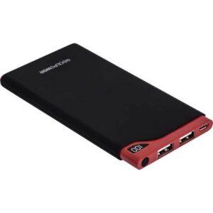 RealPower PB-6000S Powerbank (Zusatzakku) LiPo 6000 mAh 218548