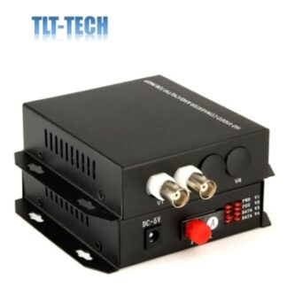 1 Pair 720P 960P 2 Channel Coaxial AHD HD CVI Fiber Optic Video Converter