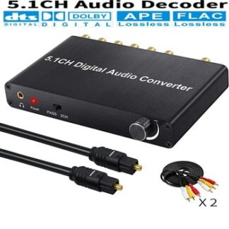 5.1ch digital audio converter DTS / AC3 Dolby decoding SPDIF input to 5.1