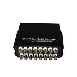 8-channel Digital Video Optical Transceiver Single-fiber single-mode fiber optic converter FC 20KM