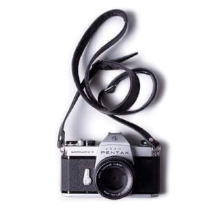Adjustable Leather & Felt Camera Strap