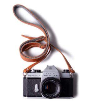 Adjustable Leather & Felt Camera Strap