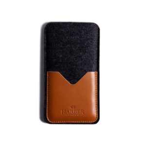 Black Edition - Leather Smartphone Sleeve Wallet