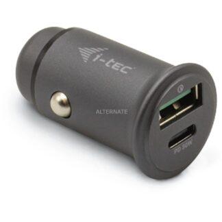 Car Charger 1x USB-C PD 30 W, 1x USB QC 3.0, Ladegerät