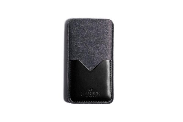 Classic Leather Smartphone Sleeve Wallet