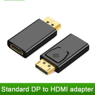 DisplayPort to HDMI Adapter Converter Display Port Male DP to HDMI Female HDTV Cable Adapter Video Audio For PC TV Projector
