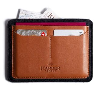 Flat Leather Passport Holder