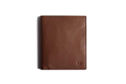 Leather Bifold Wallet with RFID Protection