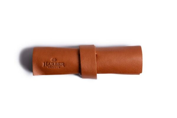 Mini Zip Leather Rollup Cord & Tools Wrap
