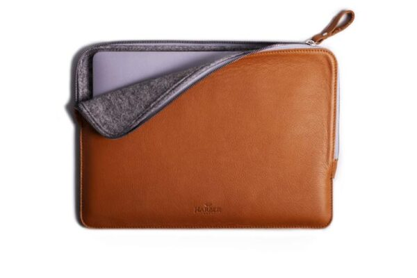 Slim Leather Folio Laptop Case No. 7