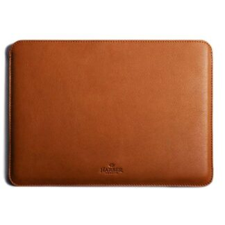Slim Leather MacBook Sleeve Case