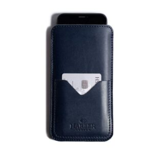Slim Leather Smartphone Sleeve Case