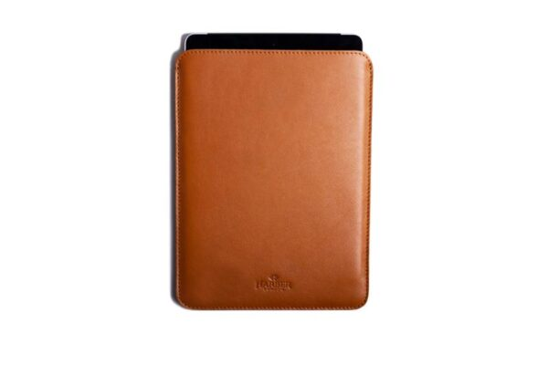 Slim Leather iPad and Kindle Sleeve Case