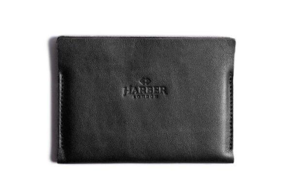 Super Slim Leather Passport Wallet Horizon