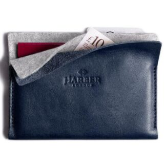 Super Slim Leather Passport Wallet Horizon