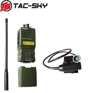 TAC-SKY walkie-talkie accessories PTT6pin U94 PTT + Harris AN/PRC152 152A military radio walkie-talkie model Harris virtual case