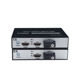 1Pair 1-channel 1 in 2 out HDMI Optical Converter 1080P HDMI Fiber Optic Video Extender HDMI Video Transceiver optical terminal