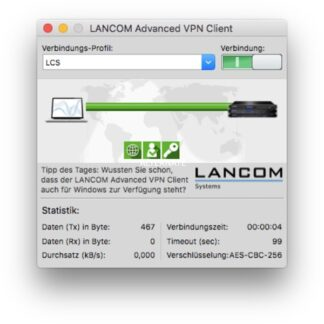 Advanced VPN Client Upgrade (Mac), Lizenz