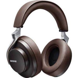 Shure AONIC 50 kabelgebunden, Bluetooth® Over Ear Kopfhörer Over Ear Braun