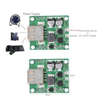 Solar cells Panels Voltage controller 5V 2A USB Charge 9V/12V/15V/18V charger Regulator dc to dc Converter
